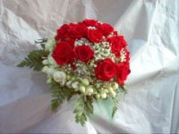 Little  Red Roses Bouquet