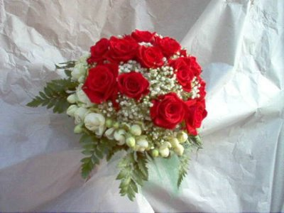 Foto Little  Red Roses Bouquet