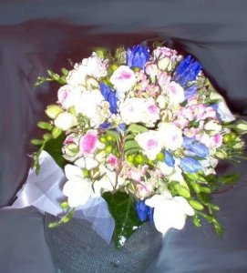 Foto Bouquet of Small Flowers